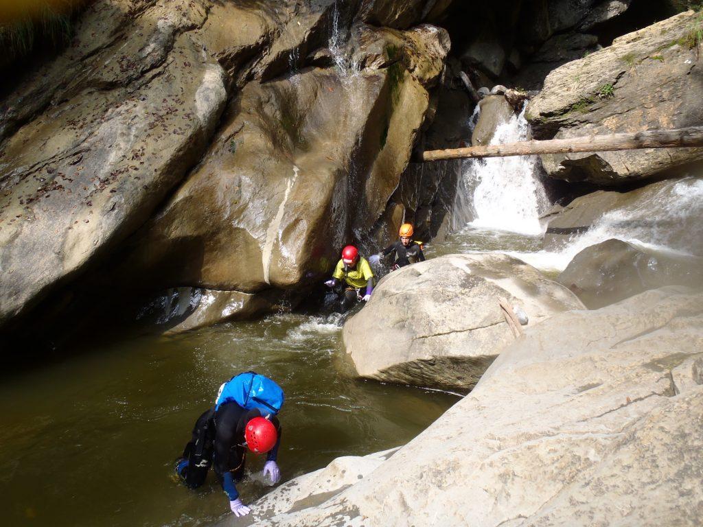 Canyoning-Chli-Schlieren